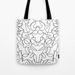 Rorschach Version 6 Tote Bag