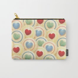 Hearts and circles Carry-All Pouch