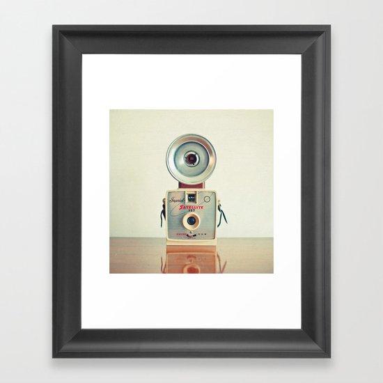 Satellite Framed Art Print