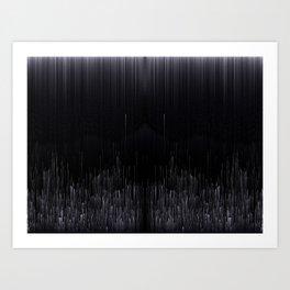 L I N E A R Art Print