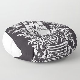 Mano Cornuto Floor Pillow