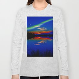 North light over a lake Long Sleeve T-shirt