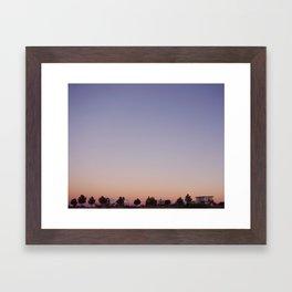 Dreaming in Marathon, Texas Framed Art Print