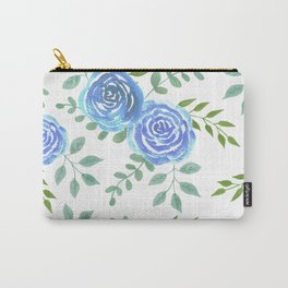 Blue roses or rosa symbolise secret or unattainable love Carry-All Pouch