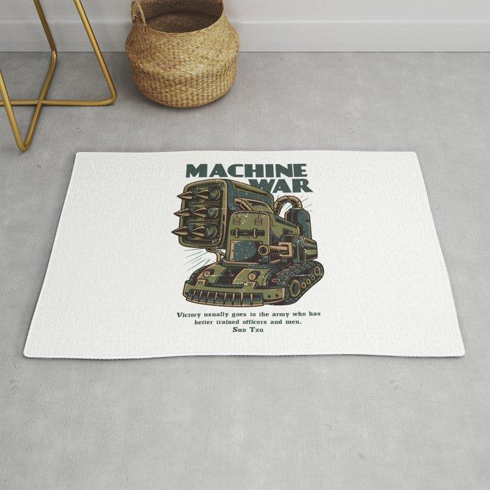 Steampunk Machine War Rug