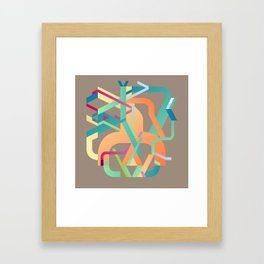 Rudimentary Machine 4 Framed Art Print