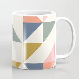 Floating Triangle Geometry Coffee Mug