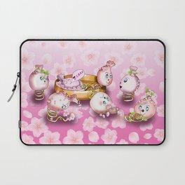 Cute spring dumplings Laptop Sleeve