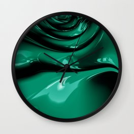 It's easy to be Green Wall Clock