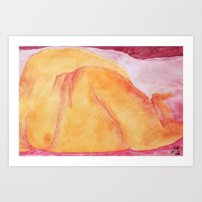 In Repose Art Print