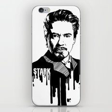 Avengers in Ink: Iron Man iPhone & iPod Skin