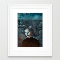 lorde Framed Art Prints featuring LORDE MAGNETS by Brian Foott