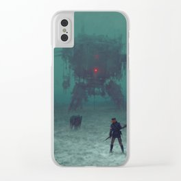 1920 - red wreck Clear iPhone Case