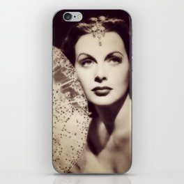 Hedy Lamarr, Hollywood Legend iPhone Skin
