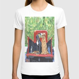 Antique Truck with Dogs T-shirt