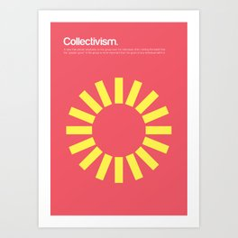 Collectivism Art Print