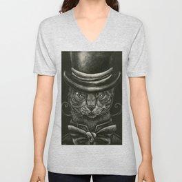 Classy Cat Unisex V-Neck