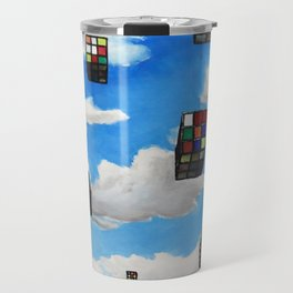 Rubik Invasion Travel Mug