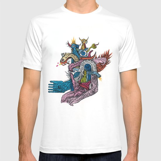 New god makina - Print available!! T-shirt