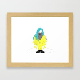 CL - Fashion KPOP Framed Art Print