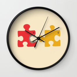Puzzle Monster Wall Clock