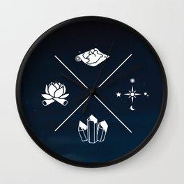Spiritual Tour Guide Wall Clock