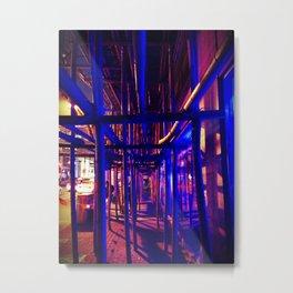 bamboo scaffolding Metal Print