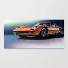 Lamborghini Miura Canvas Print