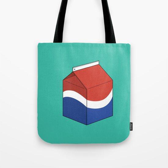 Pepsi in a box Tote Bag