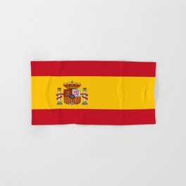 Flag of spain-spain,flag,flag of spain,espana,spanish,espanol,Castellano,Madrid,Barcelona, Hand & Bath Towel
