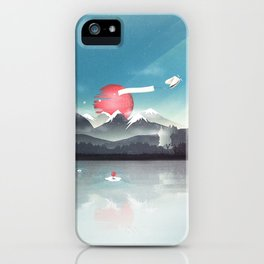 Fortuna's Message iPhone Case