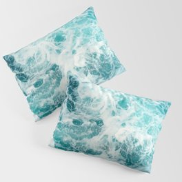 Ocean Sea Waves Pillow Sham