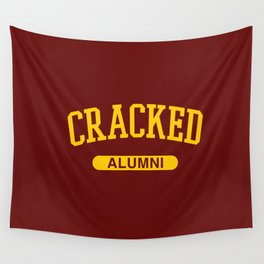 Cracked Alumni Wall Tapestry