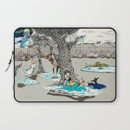 Books Coming to Life: Frozen Laptop Sleeve