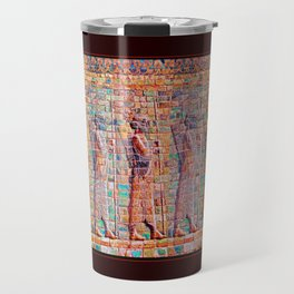 Persian Soldiers Marching Uphill to Oblivion Travel Mug