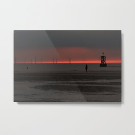 Afterglow Metal Print