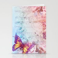 butterflies Stationery Cards featuring butterflies by haroulita