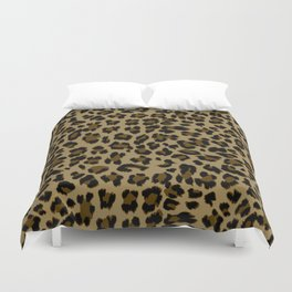 Leopard Print Pattern Duvet Cover