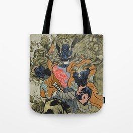 Fire God Tote Bag