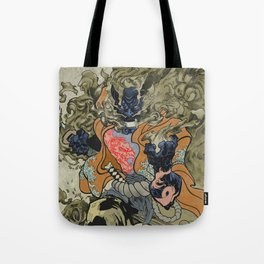 Fire God Tote Bag
