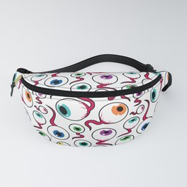 Eyeball Pattern Fanny Pack
