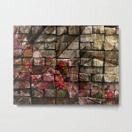 Stone and Berries PhotoArt Metal Print