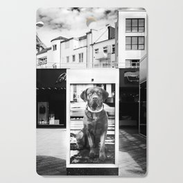Urban City Dog Cutting Board