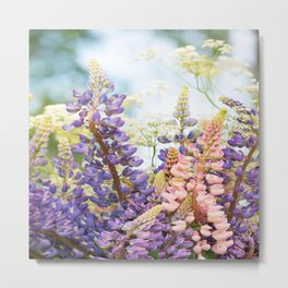 Summer Meadow Bouquet #decor #society6 #homedecor Metal Print
