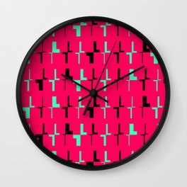 For Type Lovers. Different Kinds of L. L for Different Kinds of Love Wall Clock