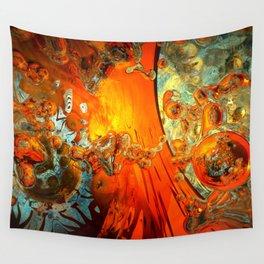 galaxies collide: élan vital ephemeral: in_destruction creation Wall Tapestry
