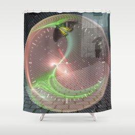 Butterfly effect Shower Curtain