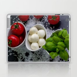 Trio of tomatoes basil fresh mozzarella Laptop & iPad Skin