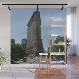 Flat Iron Building New York City Wall Mural