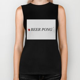 Beer Pong Biker Tank